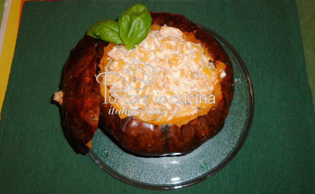 Gnocchi di zucca con salsa al parmigiano