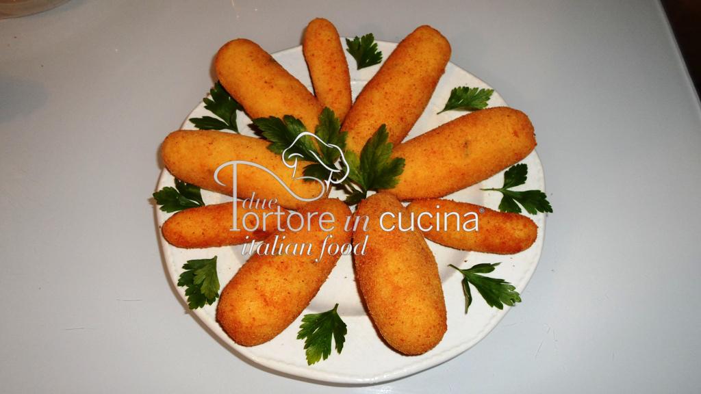 Crocchè di patate con fiordilatte