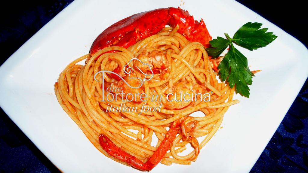 Spaghetti con astice