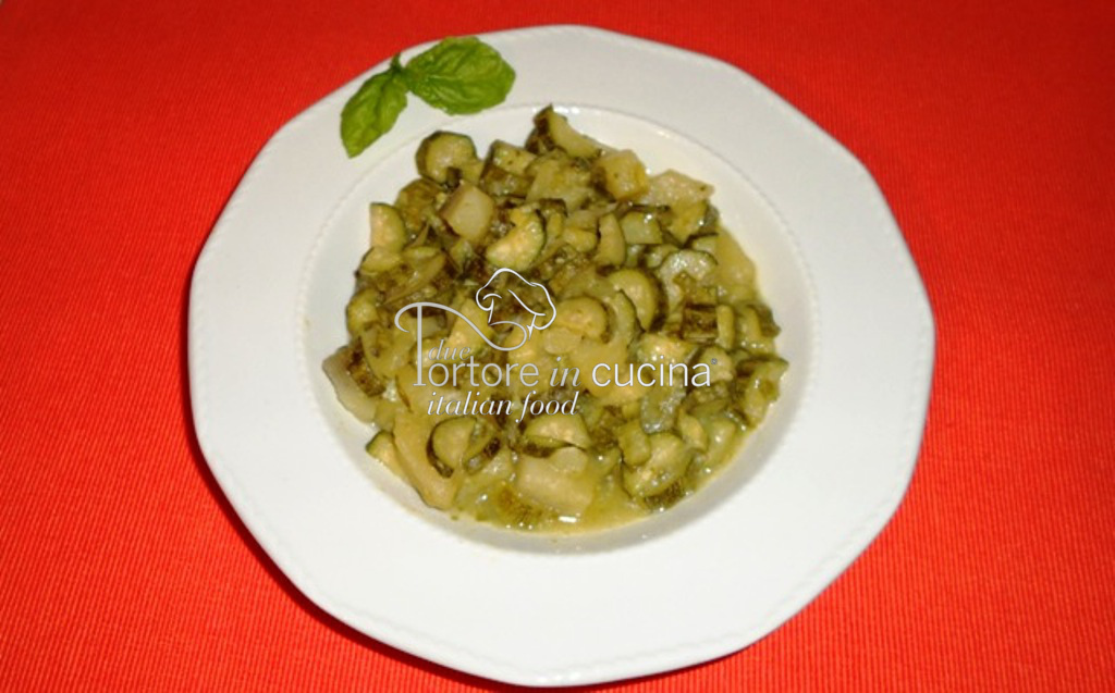 Zucchine e patate stufate