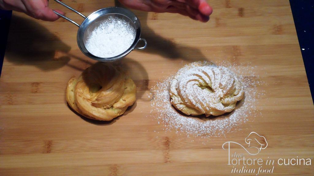 Zucchero a velo per Zeppole di San Valentino