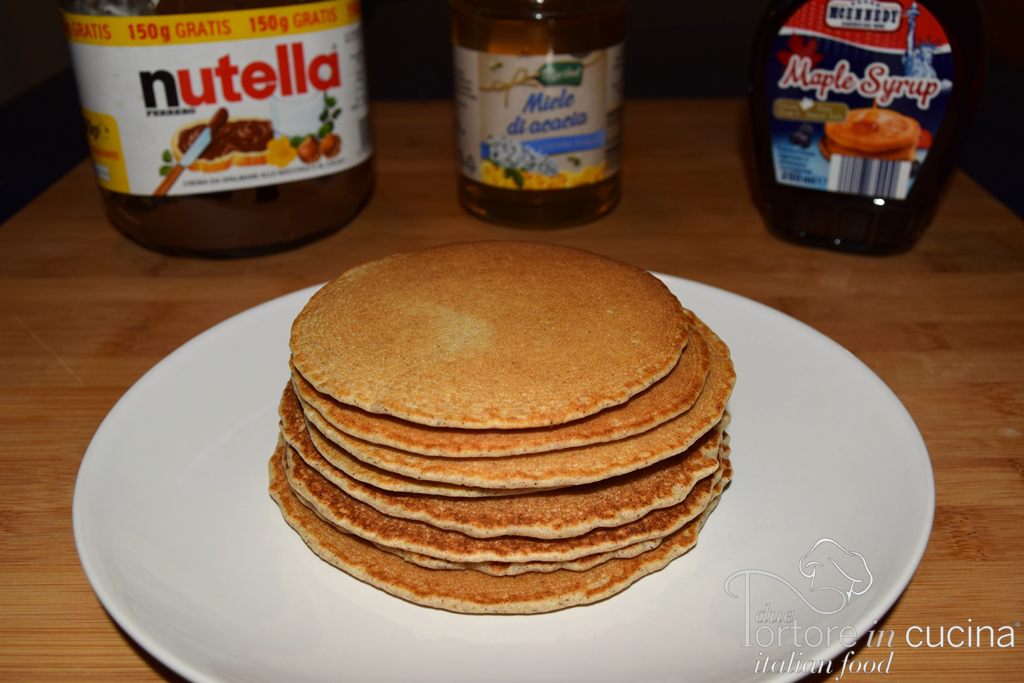 Pancakes di grano saraceno