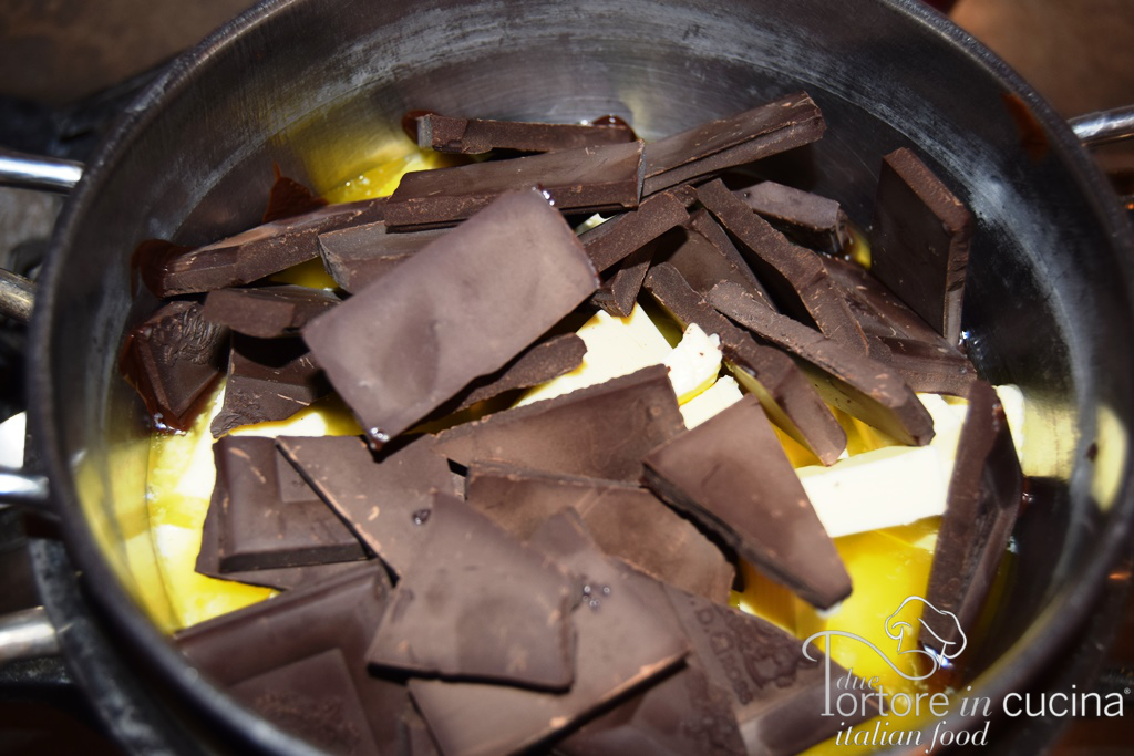 cioccolato per tortini al cioccolato dal cuore morbido