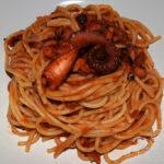 Spaghetti al ragù di polpo