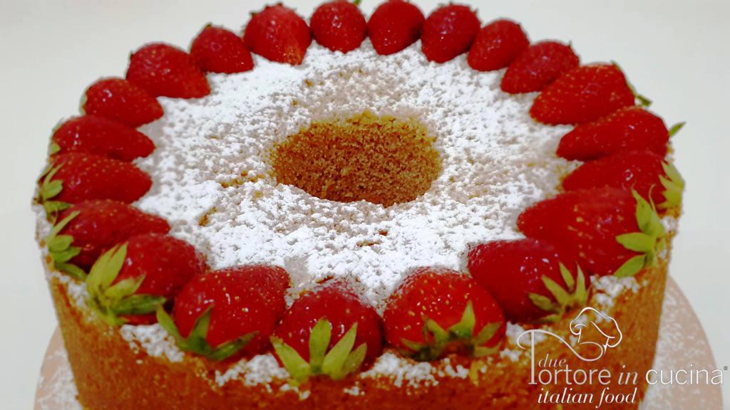 Chiffoncake alle fragole