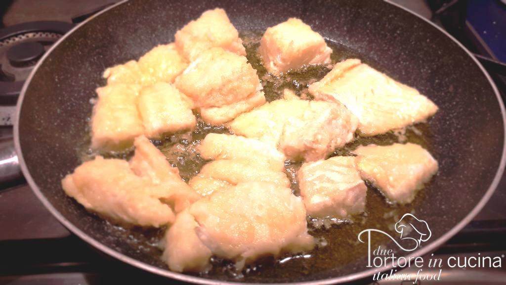 baccalà fritto per baccalà in cassuola