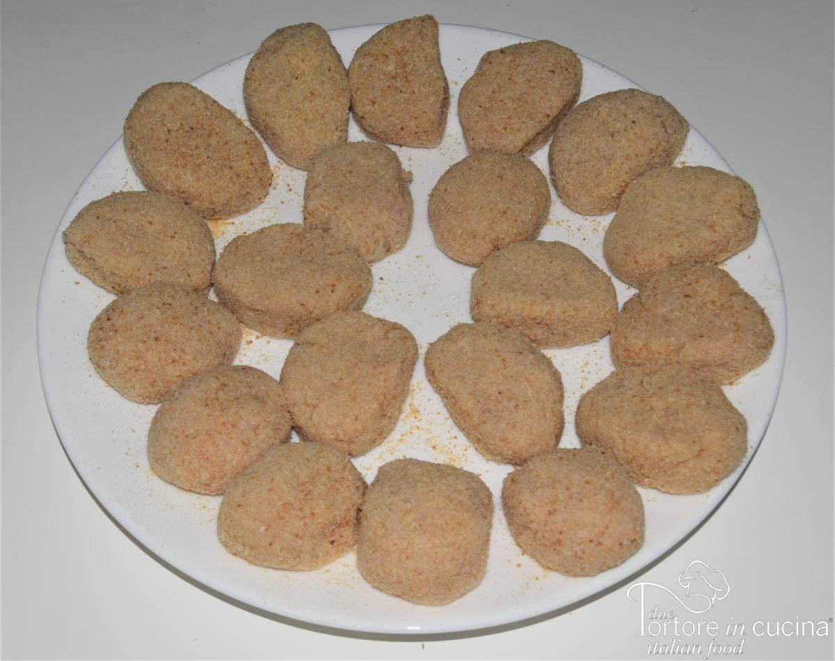 nuggets di pollo crudi