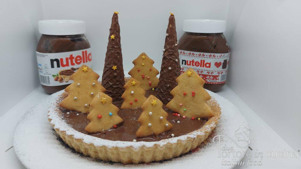 Crostata di Natale con Nutella®